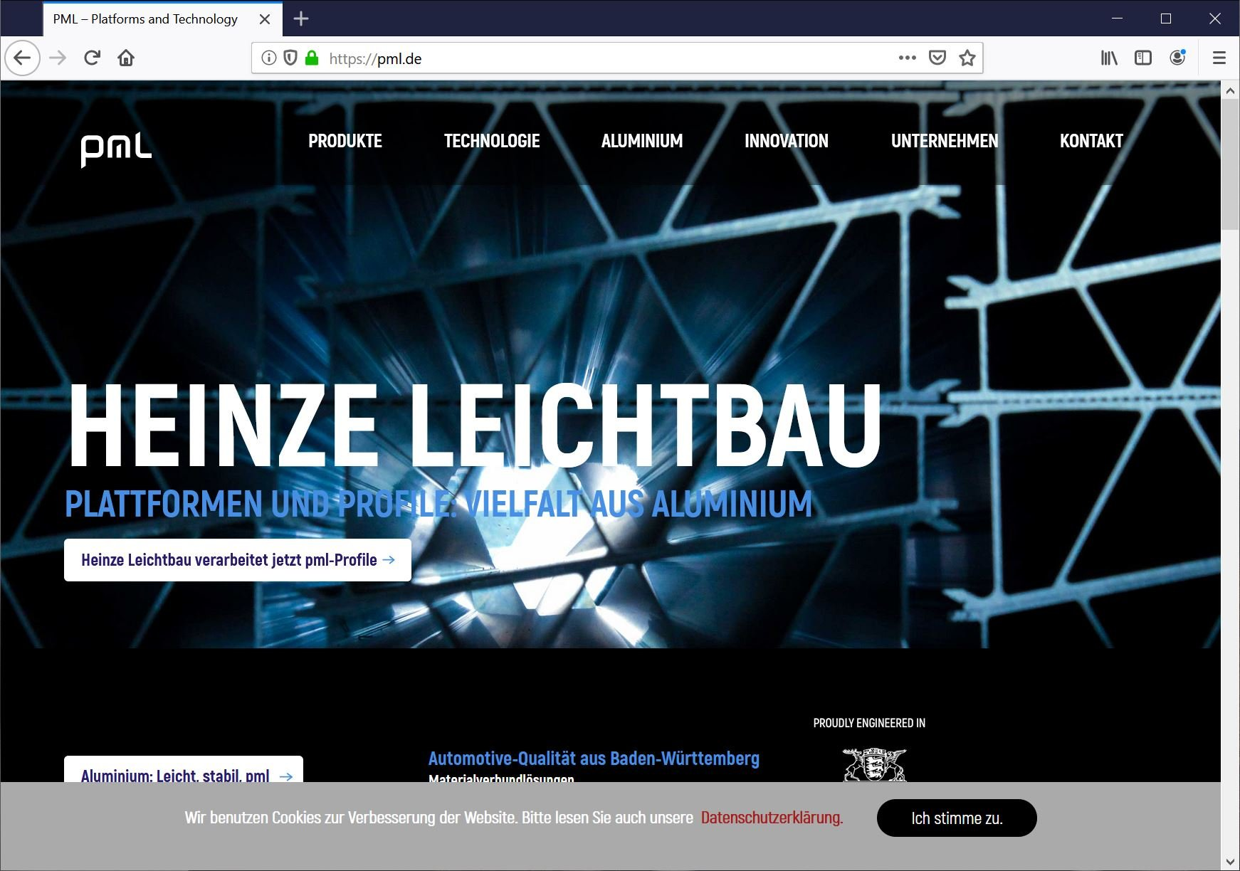 Bielefeld: Texter textet B2B-Website Automotive
