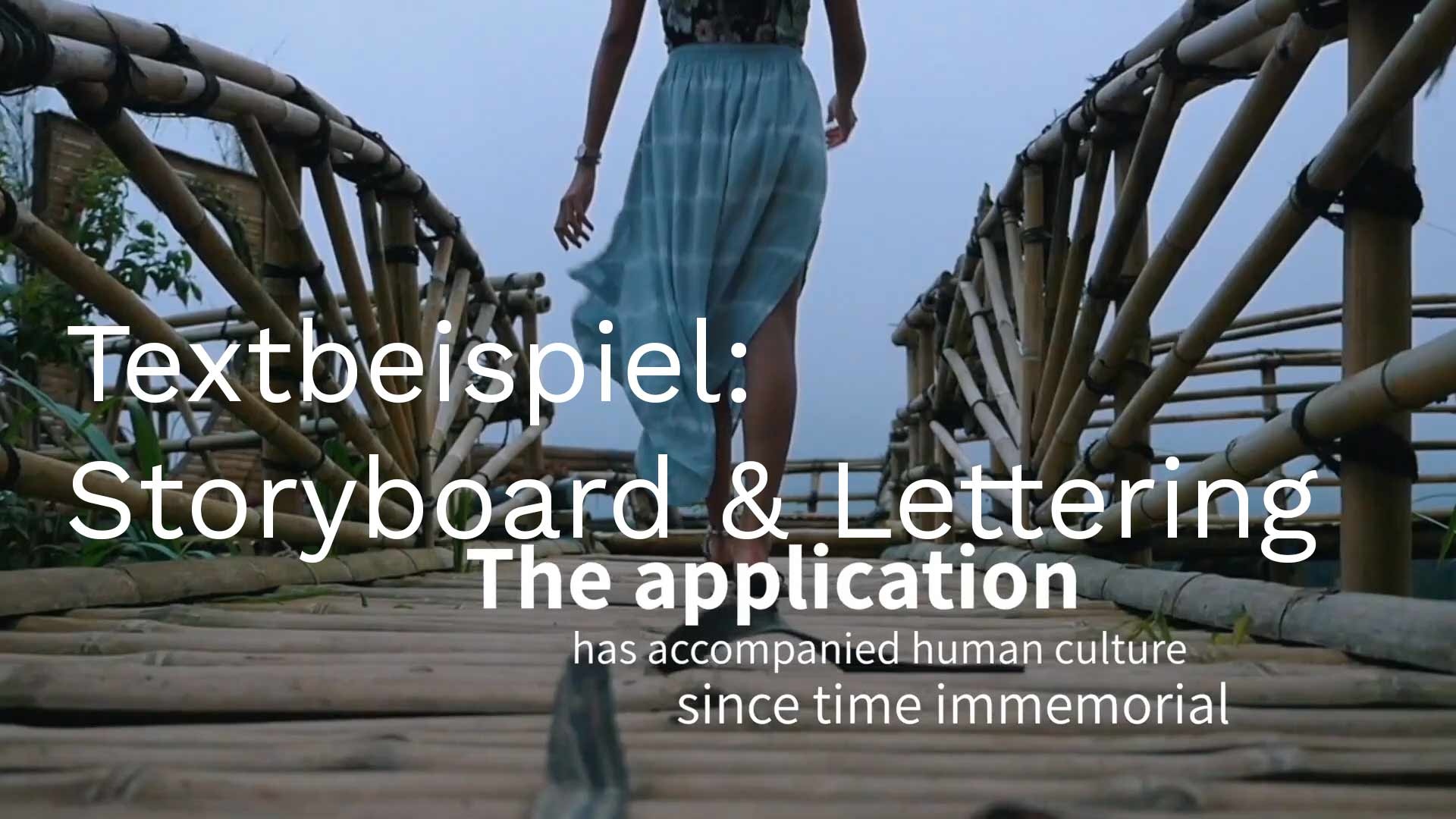 Texter entwickelt Storyboards und Untertitel
